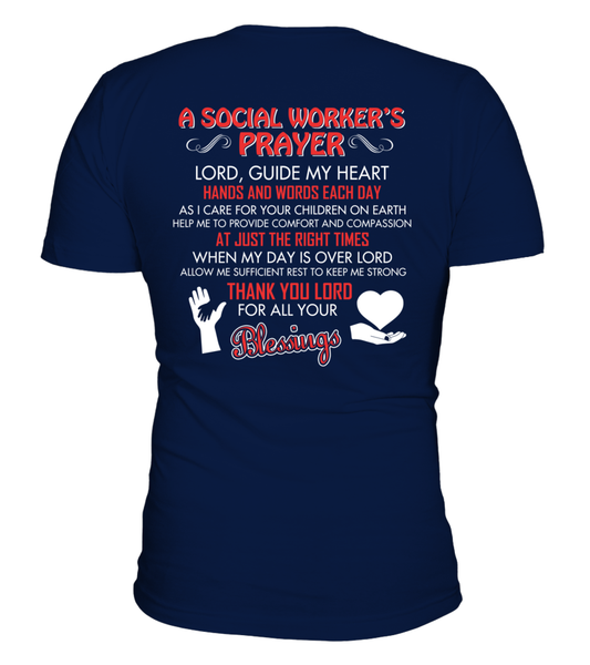 A Social Worker's Prayer Shirt - Giggle Rich - 5