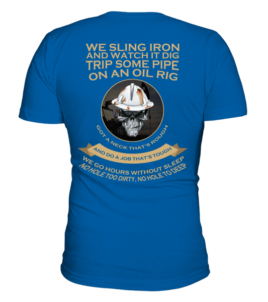Roughnecks Rig Poem Shirt - Giggle Rich - 7