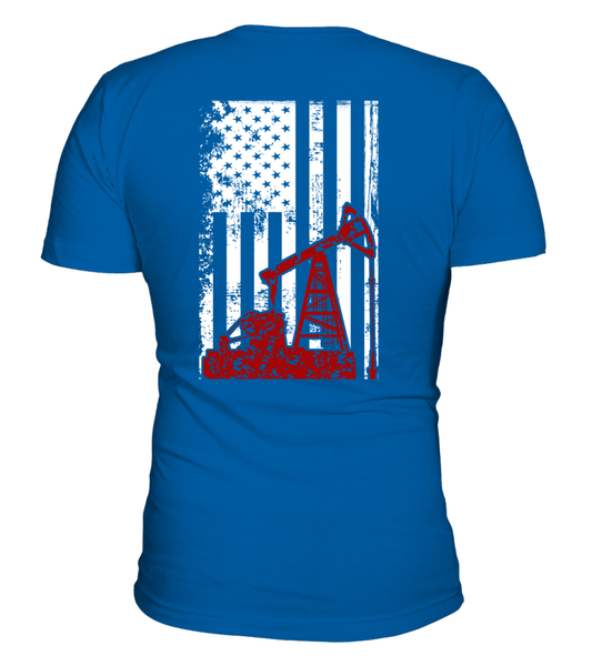 American Oilfield Worker Shirt - Giggle Rich - 4