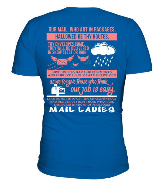 Mail Lady Prayer Shirt - Giggle Rich - 14