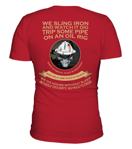 Roughnecks Rig Poem Shirt - Giggle Rich - 3