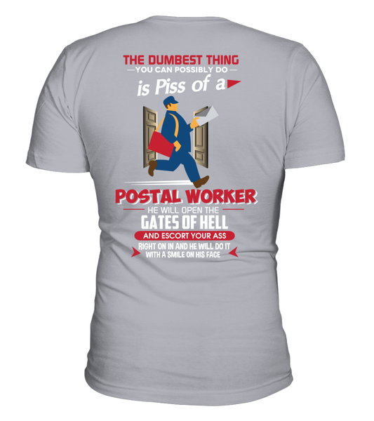 Piss Of A Postal Worker Shirt - Giggle Rich - 6