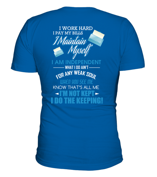 I Am An independent Postal Worker Shirt - Giggle Rich - 18