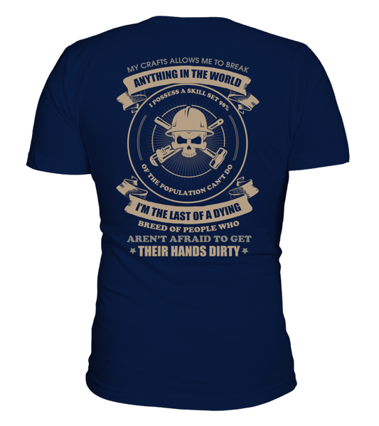 Oilfield Man Last Of Dying Breed Shirt - Giggle Rich - 4
