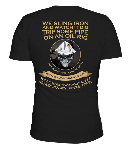 Roughnecks Rig Poem Shirt - Giggle Rich - 1