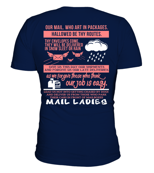 Mail Lady Prayer Shirt - Giggle Rich - 16