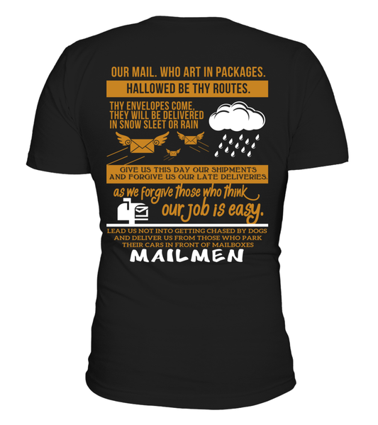 Mailman Prayer Shirt - Giggle Rich - 1