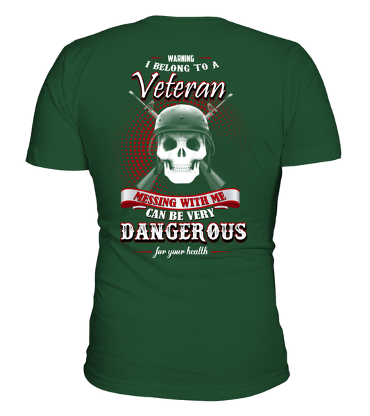 I Belong To A Veteran - Shirt Shirt - Giggle Rich - 4