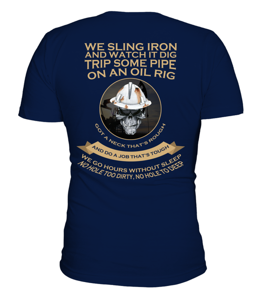Roughnecks Rig Poem Shirt - Giggle Rich - 9
