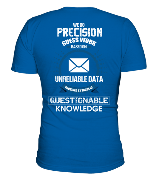 Postal Workers Do Precision Guess Work Shirt - Giggle Rich - 6