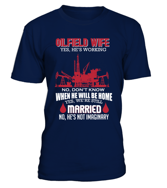 Married Oilfield Wife Shirt - Giggle Rich - 8