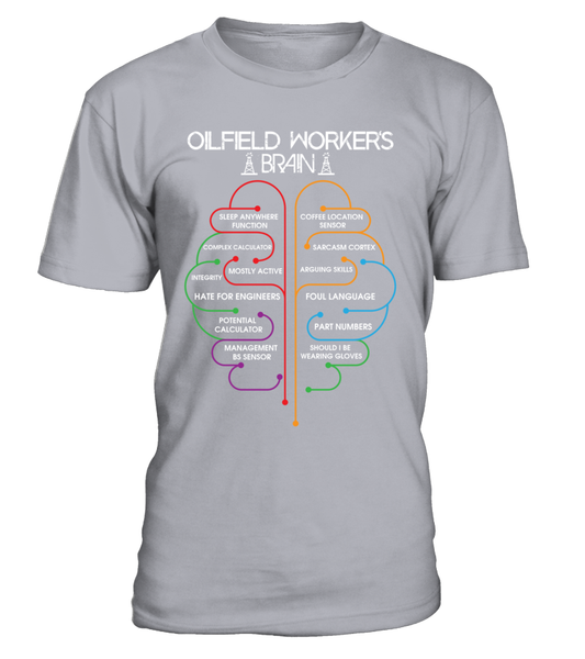 Oilfield Workers Brain Shirt - Giggle Rich - 3