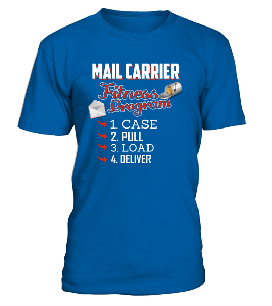 Mail Carrier Fitness Program Shirt - Giggle Rich - 4