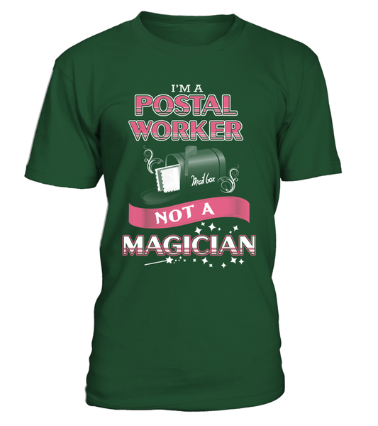 Postal Worker Not A Magician Shirt - Giggle Rich - 18