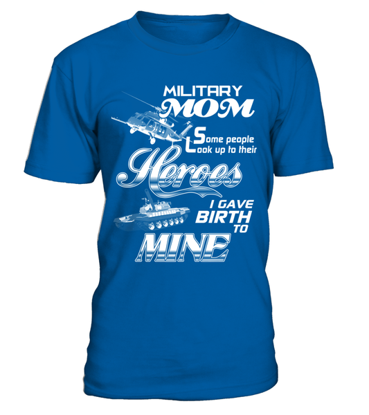 Military MOM Heroes Shirt - Giggle Rich - 4