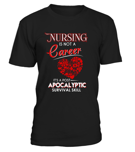 Nursing Is Not A Career Shirt - Giggle Rich - 13