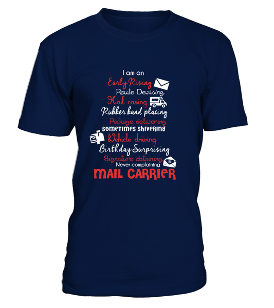 I Am An Early Rising Mail Carrier Shirt - Giggle Rich - 2