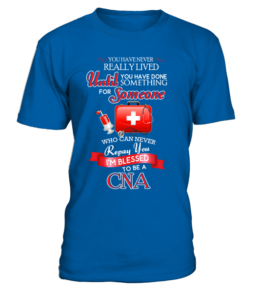 I'm Blessed To Be A CNA Shirt - Giggle Rich - 2