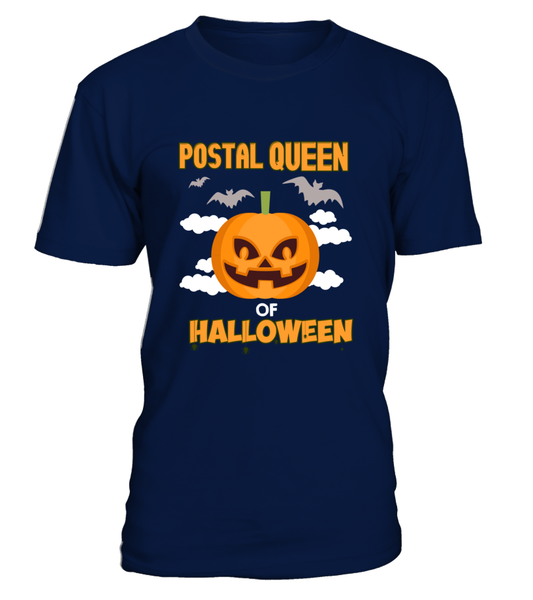 Postal Queen Of Halloween Shirt - Giggle Rich - 7
