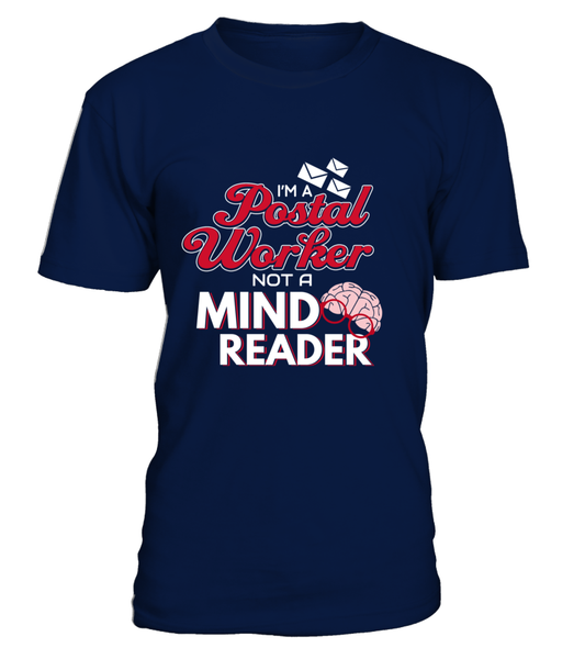 I'M A Postal Worker Not A Mind Reader Shirt - Giggle Rich - 2