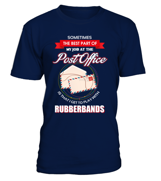 Post Office Rubberbands Shirt - Giggle Rich - 1