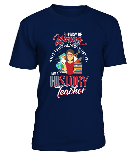 I Am A History Teacher
