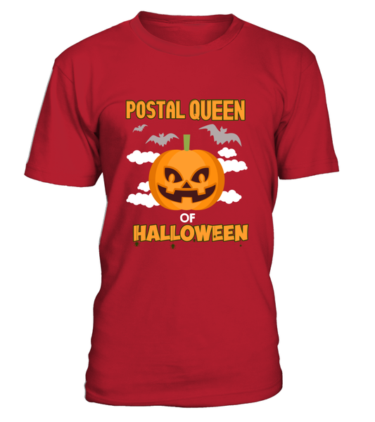 Postal Queen Of Halloween Shirt - Giggle Rich - 6