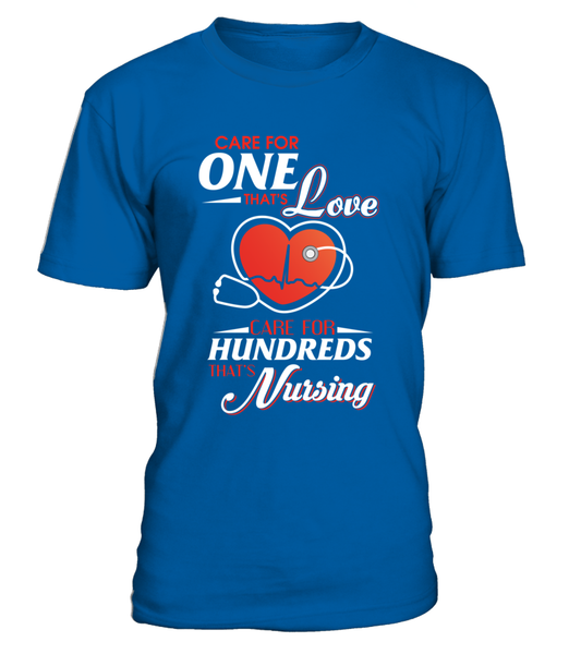 Care For Hundreds That's Nursing Shirt - Giggle Rich - 10
