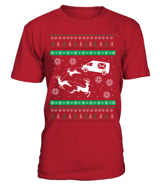 Postal Workers Ugly Christmas Sweater D1 Shirt - Giggle Rich - 7