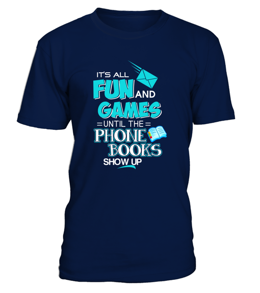 Being A Postal Worker Is All About Fun & Games Shirt - Giggle Rich