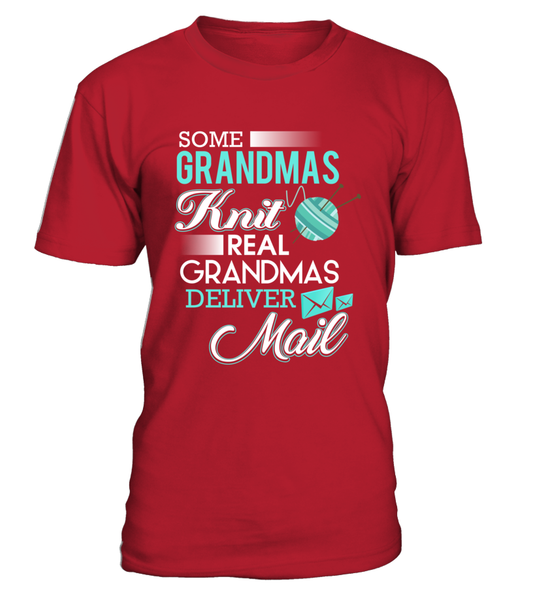 Real Grandmas Deliver Mail Shirt - Giggle Rich - 3
