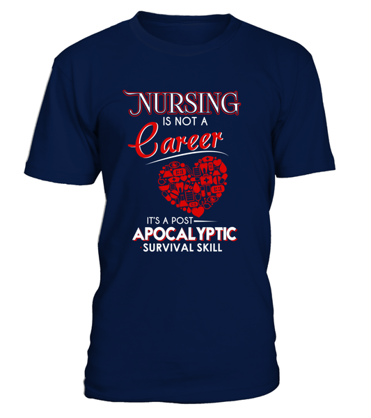 Nursing Is Not A Career Shirt - Giggle Rich - 14
