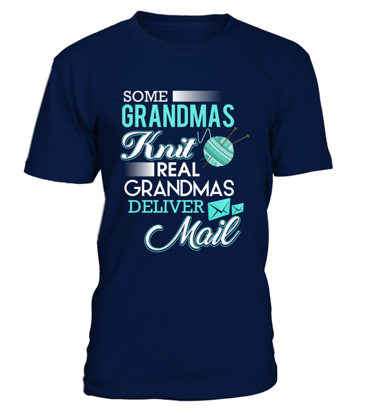 Real Grandmas Deliver Mail Shirt - Giggle Rich - 4