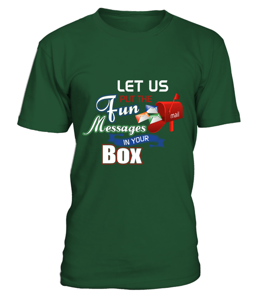 Postal Workers Put Messages In Your Box Shirt - Giggle Rich - 13