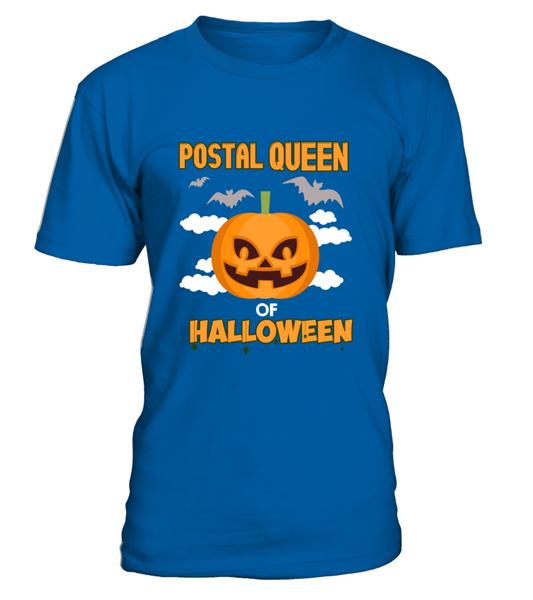 Postal Queen Of Halloween Shirt - Giggle Rich - 8