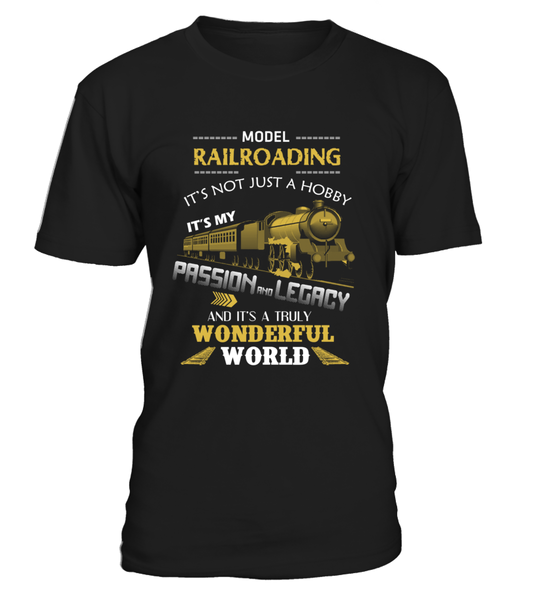 Railroading - It's My Passion And Legacy