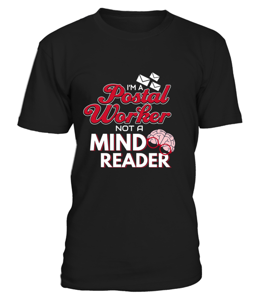 I'M A Postal Worker Not A Mind Reader Shirt - Giggle Rich - 3