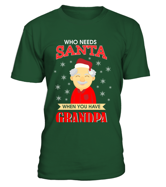 Who Needs Santa When You Have Grandpa