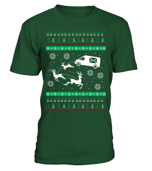 Postal Workers Ugly Christmas Sweater D1 Shirt - Giggle Rich - 9