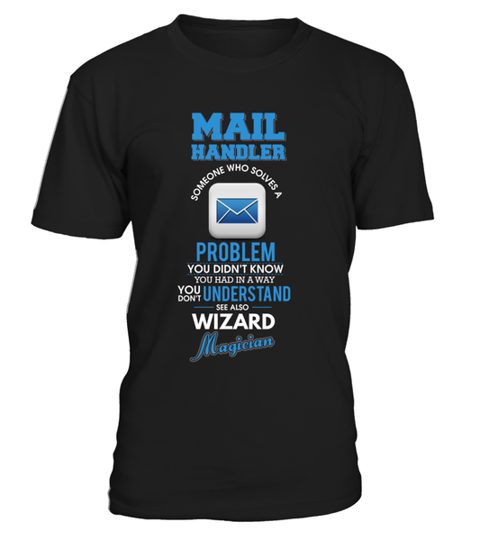 Mail Handler Solves Problems Shirt - Giggle Rich - 1