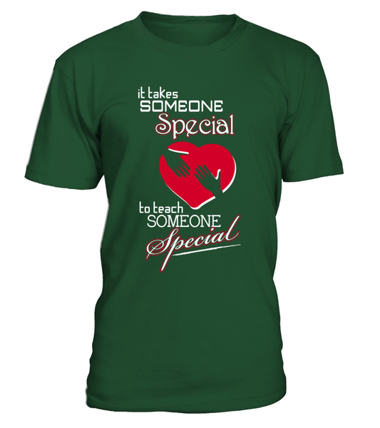 It Takes Someone Special To Teach Someone Special Shirt - Giggle Rich - 3