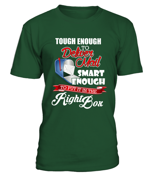 Tough Enough To Deliver Mail Shirt - Giggle Rich - 4