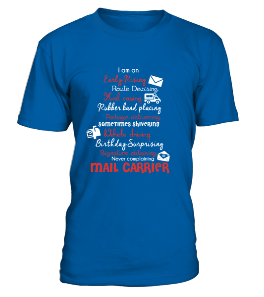 I Am An Early Rising Mail Carrier Shirt - Giggle Rich - 3
