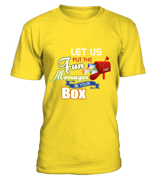 Postal Workers Put Messages In Your Box Shirt - Giggle Rich - 11