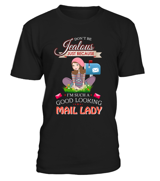 Good Looking Mail Lady Shirt - Giggle Rich - 3
