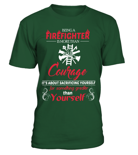 Firefighter Courage Shirt - Giggle Rich - 3