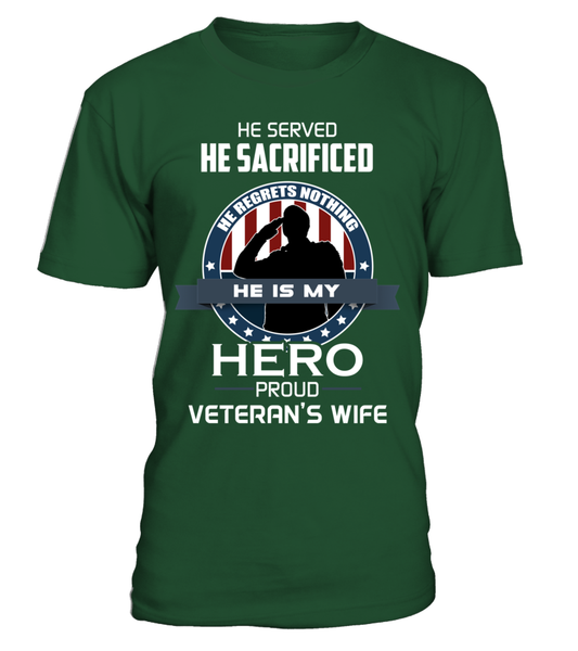 Proud Veterans Wife Shirt - Giggle Rich - 14
