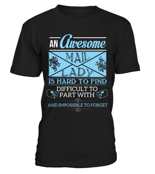 An Awesome Mail Lady Shirt - Giggle Rich - 3