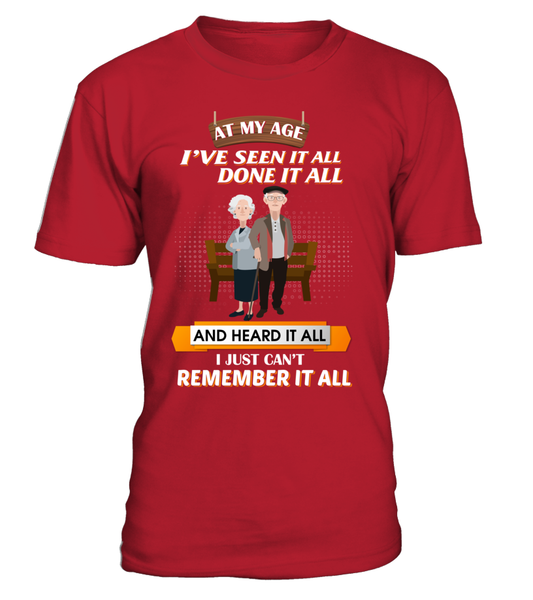At My Age - I Just Can't Remember It All Shirt - Giggle Rich - 2