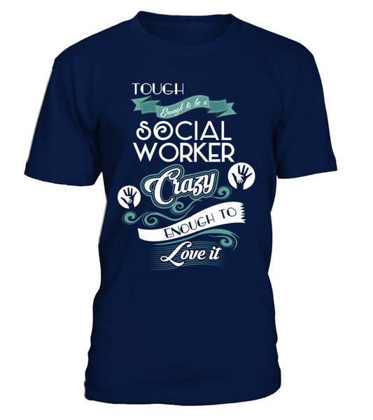 Tough Enough To Be A Social Worker Shirt - Giggle Rich - 3